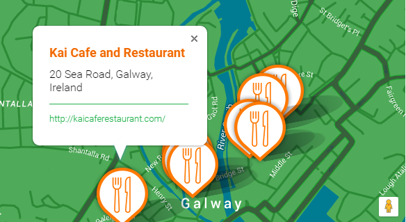 Bord Bia Just Ask Map