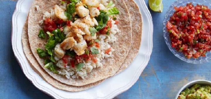 Haddock Burrito Recipe by Fearne Cotton