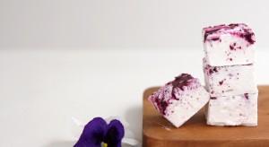 Blueberry Swirl Marshmallow Recipe by Cove Cake Design