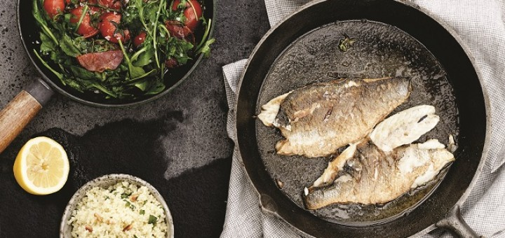 Sea bass recipe by Derval O'Rourke