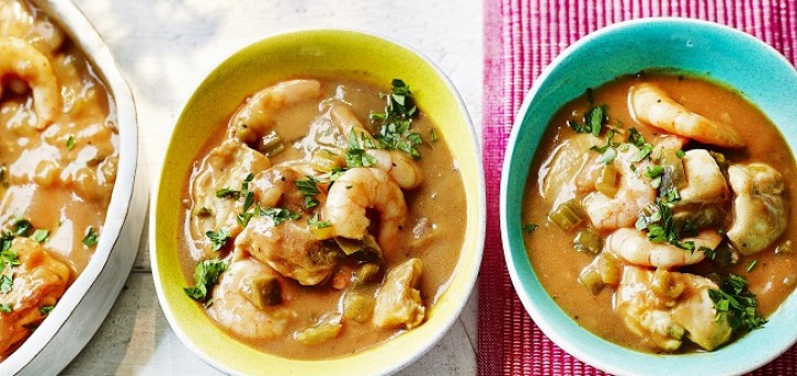Chicken and Prawn Gumbo Recipe from M&S