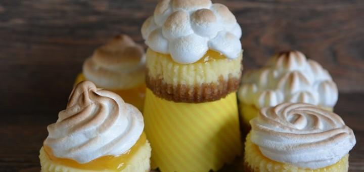 Mini Lemon Meringue Pie Cheesecakes Recipe by Karyn Ryan