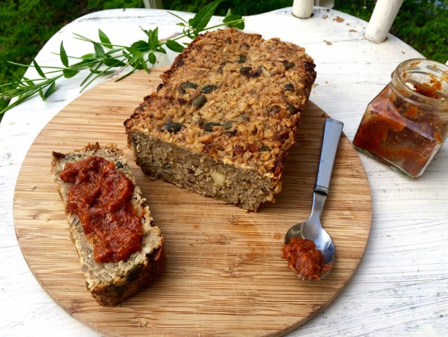 Pine Nut, Hazelnut and Almond Bread
