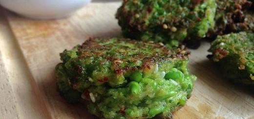 Pea & Mint Falafel with Harissa Yoghurt Dip Recipe by Niamh Mannion