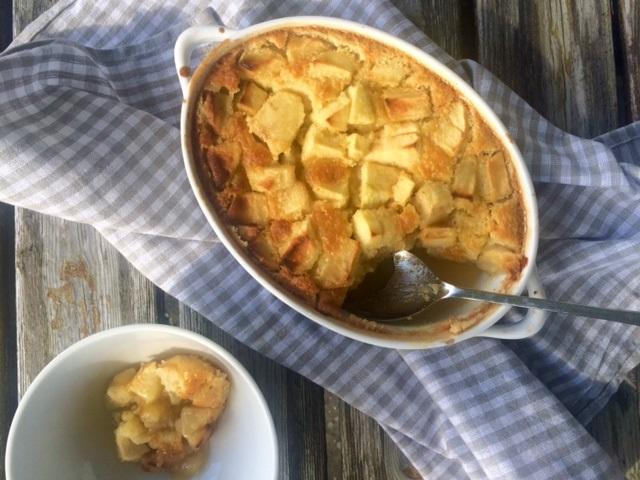 apple-pudding