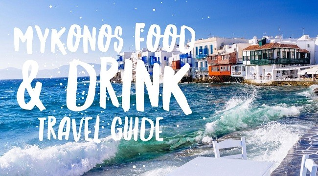 mykonos food and drink travel guide