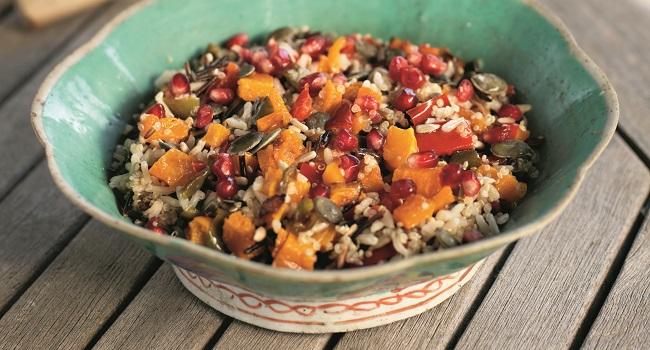 Three-Grain Salad Recipe by Derval O'Rourke