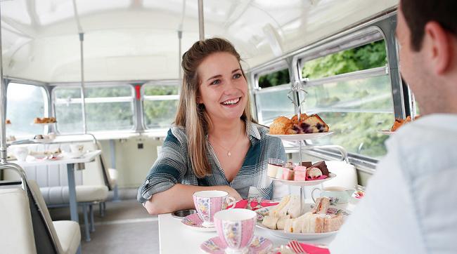 Vintage Tea Bus Tour Dublin