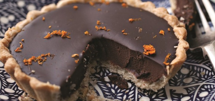 Chocolate and Orange Tartlets Recipe by Catherine Fulvio