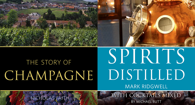 Infinite Ideas Publishes Two New Books for Wine and Spirits Enthusiasts