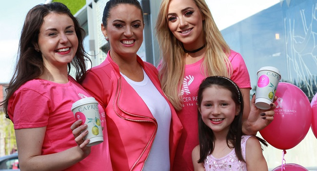 Caprice Café, Galway Goes PINK for Breast Cancer Research