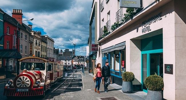 Win dinner and an overnight stay at the pembroke kilkenny for 4 star boutique hotel