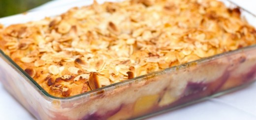 Plum-cobbler by Madeline Shaw