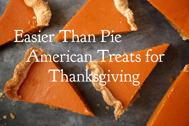 american treats for thanksgiving