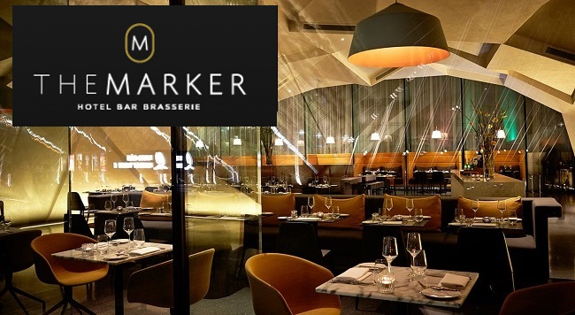 Exclusive rh ne valley wine dinner at the marker hotel for Canape aperitif