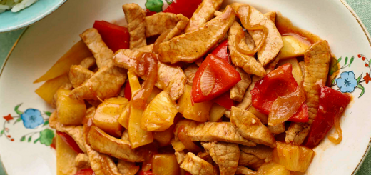Chinese-Style Sweet and Sour Pork