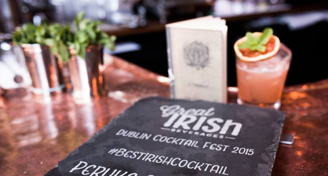 Exciting Pop Up Events Taking Palce During the Irish Cocktail Fest - October 10th to 15th