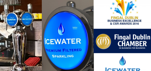 IceWater Has Been Selected as a Finalist in the Fingal Business Excellence & CSR Awards 2016