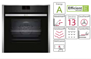 Win an amazing oven plus a compact oven from Neff kitchens worth over €2050 to celebrate the Permanent TSB Ideal Home Show