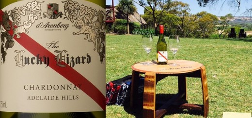 Lucky Lizard Chardonnay 2013 - Wine Review