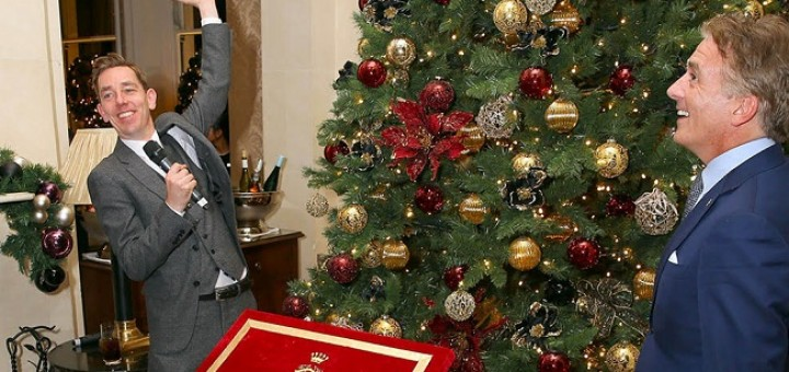 Photo Gallery: Ryan Tubridy Lights Up The Shelbourne at the Annual Christmas Tree Lighting Event