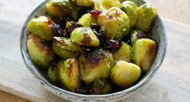 Baked Brussels Sprouts Recipe by The Wonky Spatula