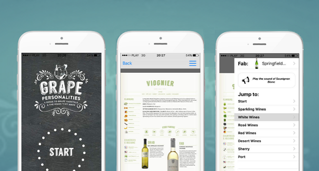 New Wine App Grape Personalities, a Great Resource for Wine Lovers Just Launched
