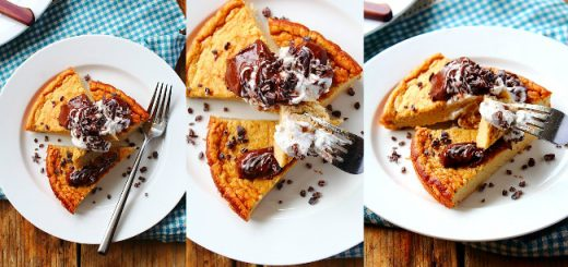 Plantain Protein Breakfast Cake Recipe by Peachy Palate