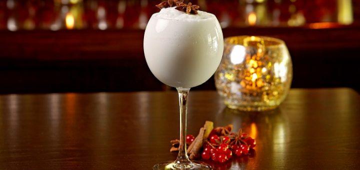 Saba Snowball Christmas Cocktail. Photo: Eoin Holland - www.eoinholland.com