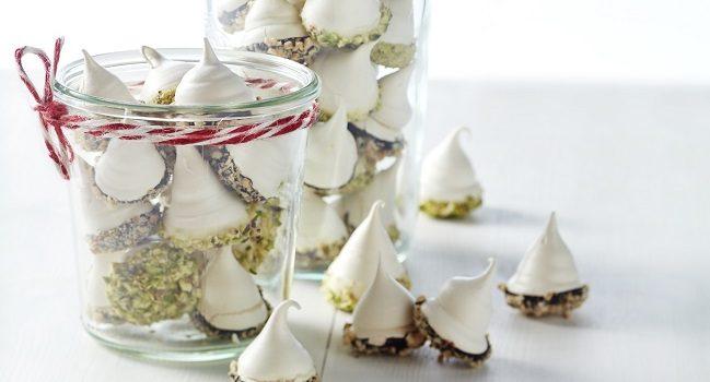 Chocolate Dipped Meringues Recipe | TheTaste.ie