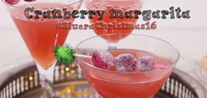 Watch: Cranberry Margarita Recipe Video from Siúcra