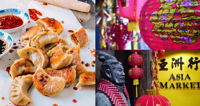 Asia Market Chinese New Year Countdown