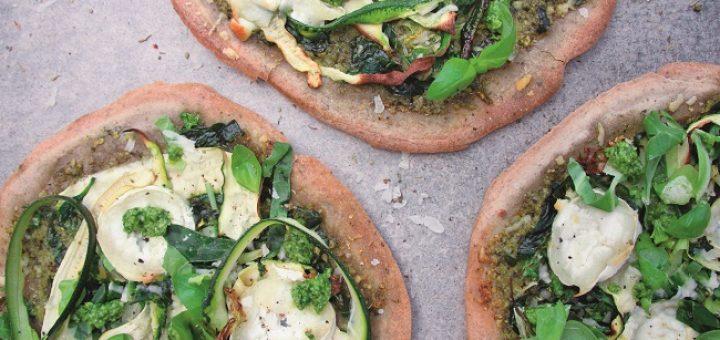 Buckwheat pizza recipe