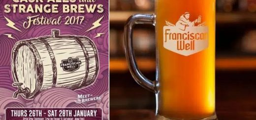Cask Ales and Extraordinary Brew Festival at the Franciscan Well Pub on January 26th-28th