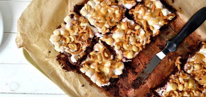 Junk Food Brownies Recipe by Hazel Sheehan
