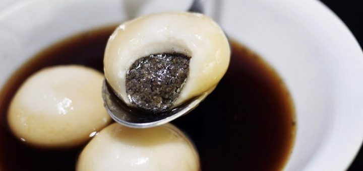 Tang Yuan (Sweet Rice Balls with Black Sesame Filling) Recipe by Kwanghi Chan