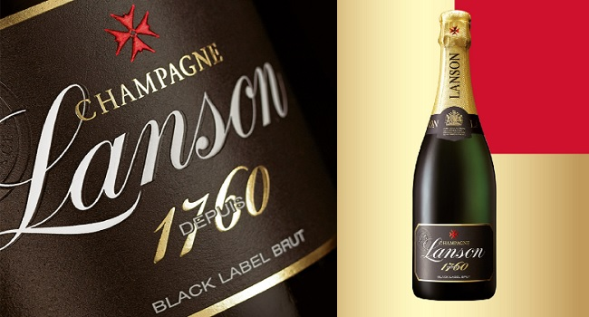 Win a Bottle of Lanson Black Label NV Champagne from OBriens Wine to Celebrate Valentines Day