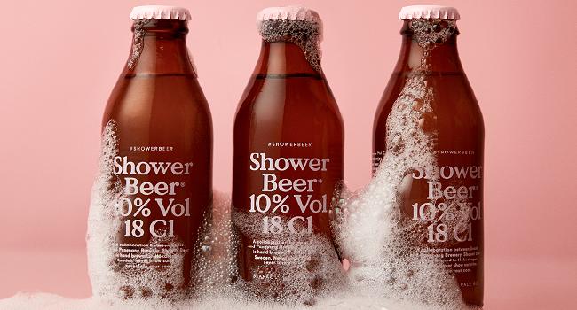 shower beer PangPang Brewery