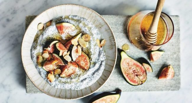 Coconut & Fig Overnight Chia Pudding Recipe from Clean Eating Alice