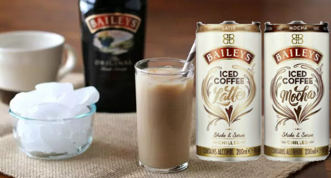 Diageo's to Launch Canned Baileys Iced Coffee this Month