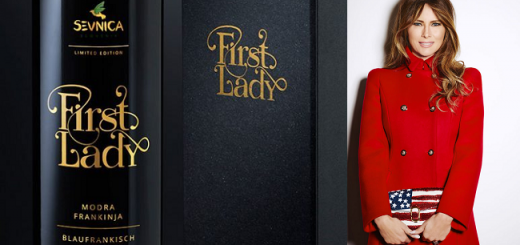 First Lady Wine Inspired in Melania Trump Launched by Slovenian Winemakers
