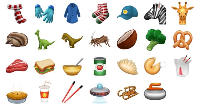 Food Emojis New Emoji Update