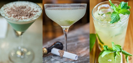 Three Green Cocktails to Celebrate Paddy's Day (and Where to Find them in Dublin)
