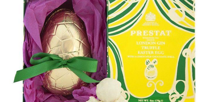 UK Chocolatier 'Prestat' Brings Luxury Gin Truffle Easter Egg to Ireland's Shores