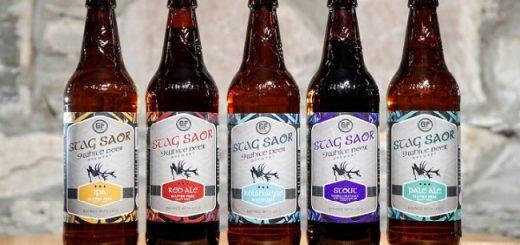 9 White Deer Stag Saor Range - Craft Beer Review