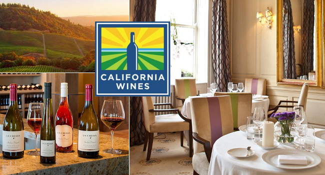 California Wine Tasting at Residence Club for €20   California Wine Week