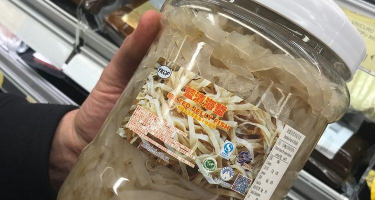 Asia Market Karl Whelan Salted Jellyfish