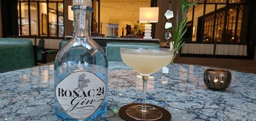 Promised Land: A Bonac 24 Gin Cocktail by Alan Moore from Lemuel's
