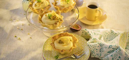 Siucra x Catherine Fulvio Mango and Passionfruit Mousse Tartlets Recipe