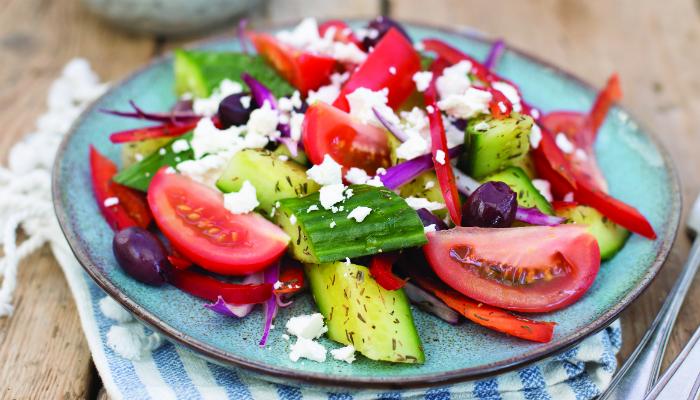 Greek-Style Cucumber Salad